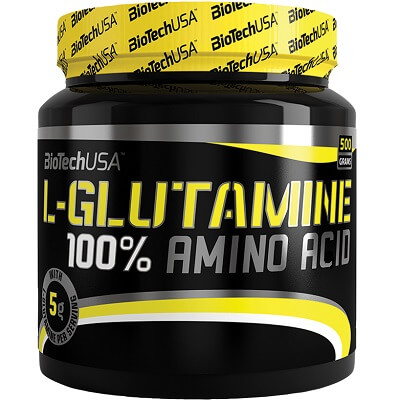 BIOTECH USA 100% L-GLUTAMINE - 500 g Image