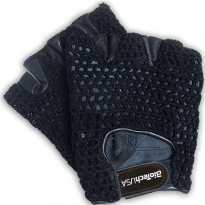 BIOTECH USA GYM GLOVES - Black Image