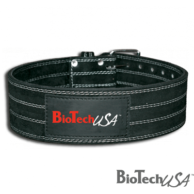 BIOTECH USA LEATHER POWERLIFTING BELT Image