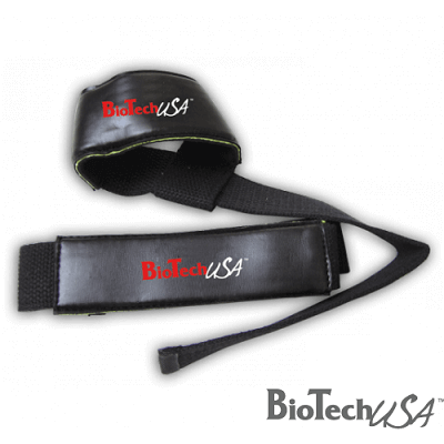 BIOTECH USA LIFTING STRAPS - 2 pcs - Black Image