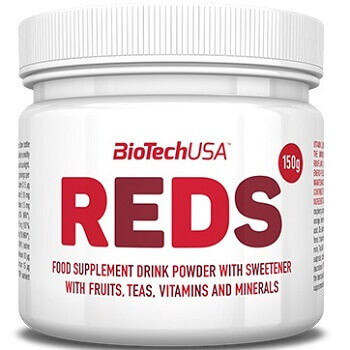 BIOTECH USA REDS - 150 g natural fruit flavour Image