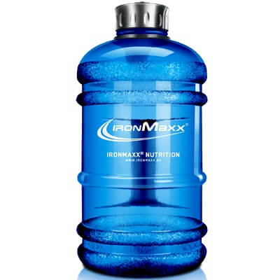 IRONMAXX WATER BOTTLE - 2200 ml - Blue Image