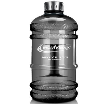 IRONMAXX WATER BOTTLE - 2200 ml - Gunsmoke Image