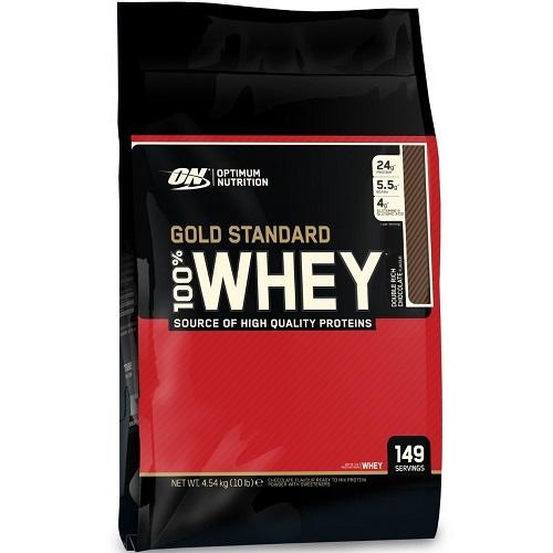 OPTIMUM NUTRITION GOLD STANDARD 100% WHEY - 4540 g Image