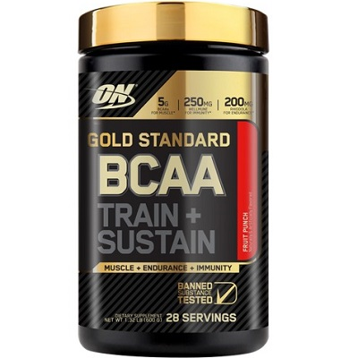 OPTIMUM NUTRITION GOLD STANDARD BCAA - 28 servings Image