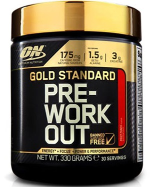 OPTIMUM NUTRITION GOLD STANDARD PRE-WORKOUT - 30 servings Image