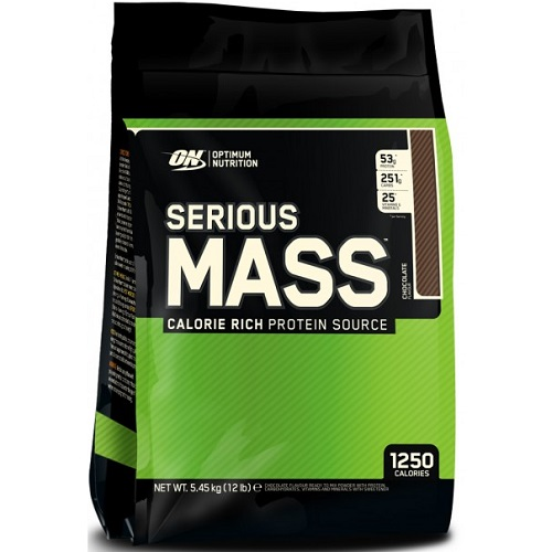 OPTIMUM NUTRITION SERIOUS MASS - 5450 g Image