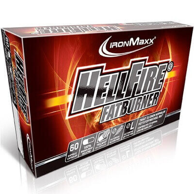 IRONMAXX HELLFIRE FAT BURNER - 60 caps Image