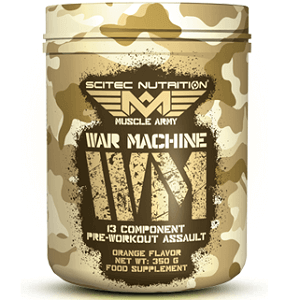 SCITEC MUSCLE ARMY WAR MACHINE - 350 g Image