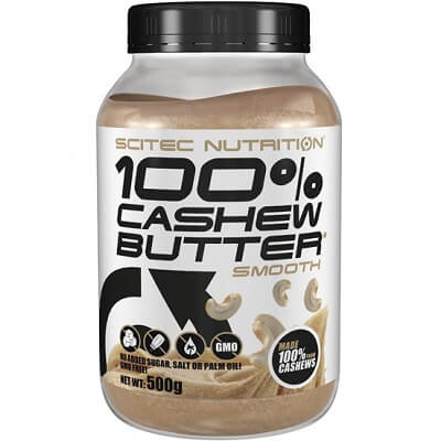 SCITEC NUTRITION 100% CASHEW BUTTER - 500 g smooth Image