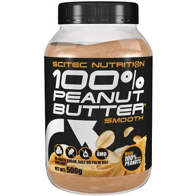 SCITEC NUTRITION 100% PEANUT BUTTER - 500 g smooth Image
