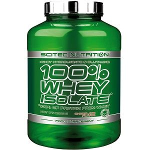 SCITEC NUTRITION 100% WHEY ISOLATE - 2000 g Image