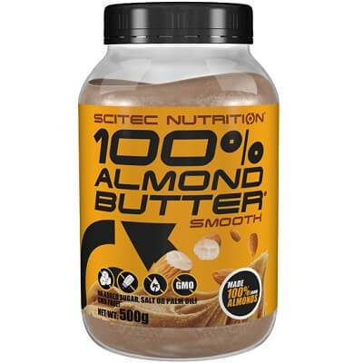 SCITEC NUTRITION 100% ALMOND BUTTER - 500 g smooth Image