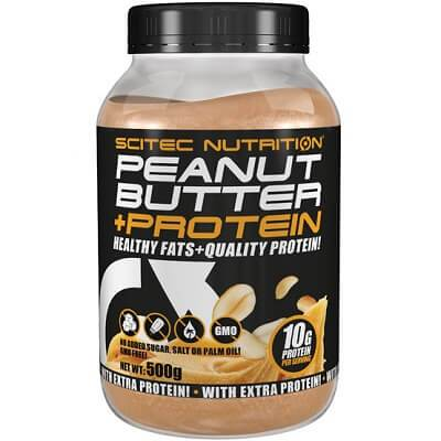 SCITEC NUTRITION 100% PEANUT BUTTER + PROTEIN - 500 g smooth Image