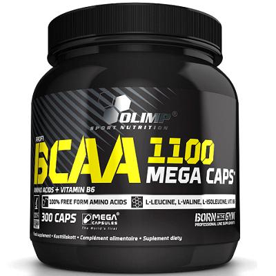 OLIMP BCAA MEGA CAPS 1100mg - 300 caps Image