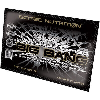 SCITEC NUTRITION BIG BANG 3.0 - 1 serving Image