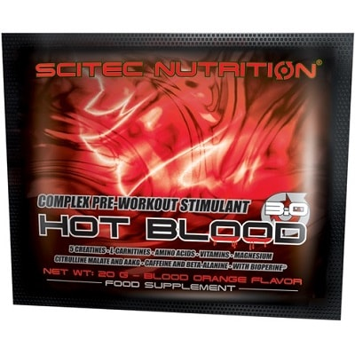SCITEC NUTRITION HOT BLOOD 3.0 - 1 serving Image