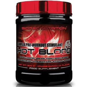SCITEC NUTRITION HOT BLOOD 3.0 - 300 g Image