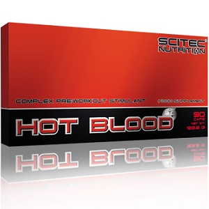 SCITEC NUTRITION HOT BLOOD CAPS 3.0 - 90 caps Image