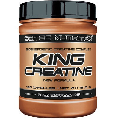 SCITEC NUTRITION KING CREATINE - 120 caps Image