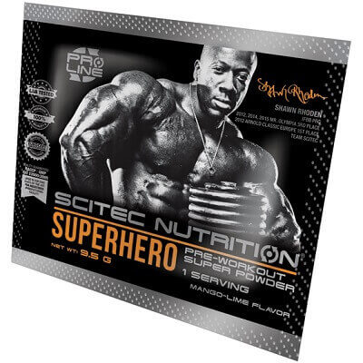 SCITEC NUTRITION SUPERHERO - 1 serving Image