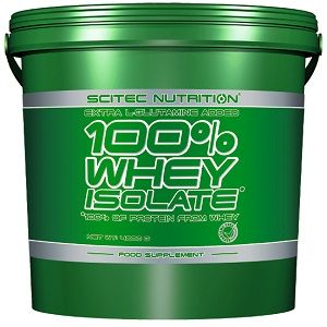 SCITEC NUTRITION 100% WHEY ISOLATE - 4000 g Image