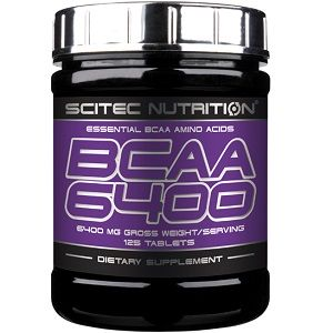 SCITEC NUTRITION BCAA 6400 - 125 tabs Image