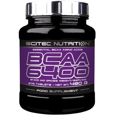 SCITEC NUTRITION BCAA 6400 - 375 tabs Image