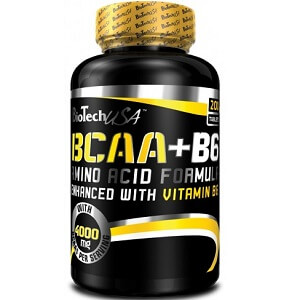 BIOTECH USA BCAA+B6 - 100 tabs Image