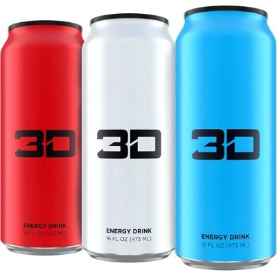 3D ENERGY DRINKS 3D ENERGY - 473 ml Image